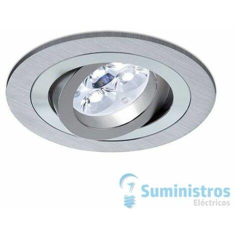 Aro empotrable Redondo BPM Lighting A3010 Aluminio cepillado