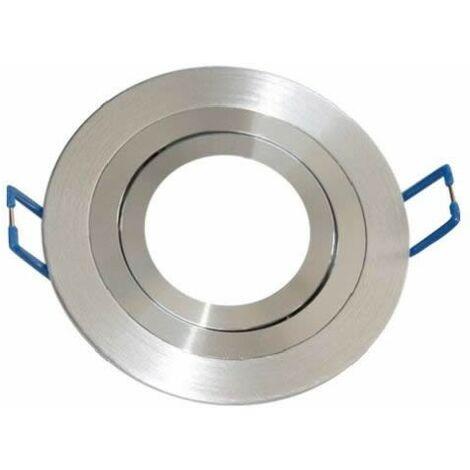 Aro empotrable redondo de aluminio orientable para bombilla LED GSC 0701952