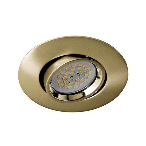 Aro empotrable Zar oro viejo (35mm.) CRISTALRECORD 01-024-00-006