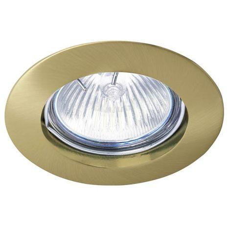 Aro empotrable Zar oro viejo (fijo) CRISTALRECORD 01-020-01-006