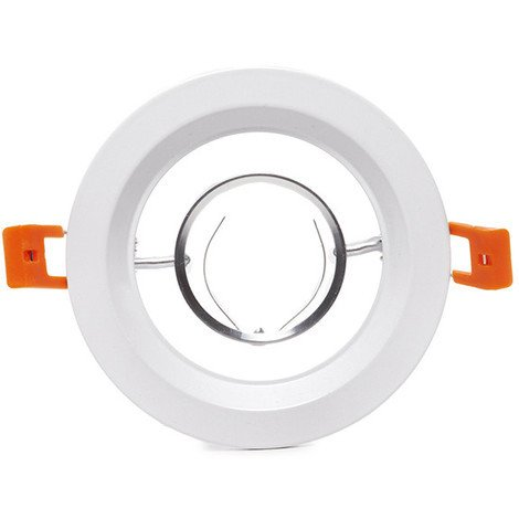 Aro Foco Downlight Circular Blanco 120Mm (HO-120RING-1000C-G)