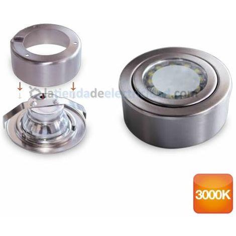 Aro redondo de superficie y empotrar LED 3W 285lm 3000K GSC 0703408