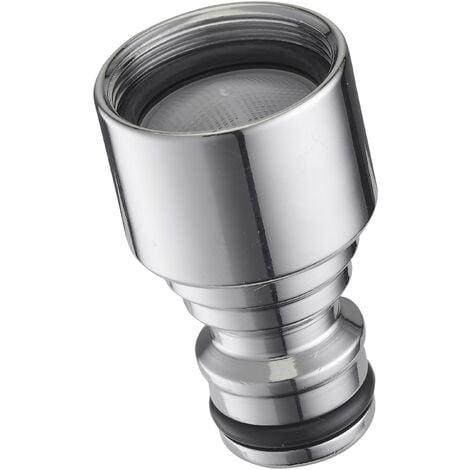 AROZ Raccord adaptateur de bec de robinet sanitaire femelle F22x100 sortie automatique