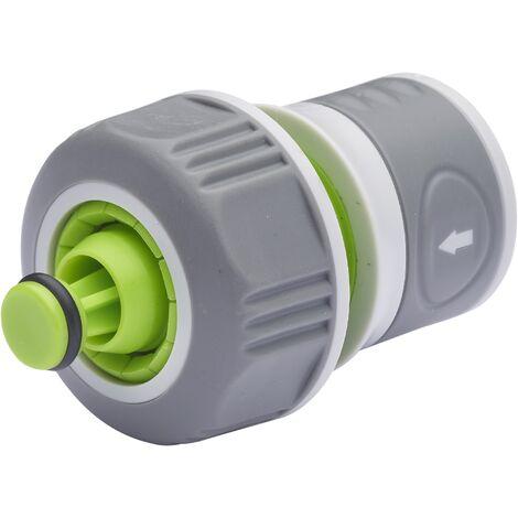 AROZ Raccord automatique bi-matière aquastop ø19mm