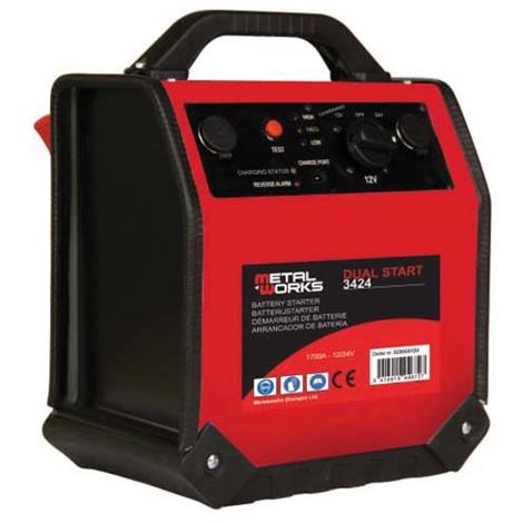 Arrancador de batería, Dual Start 3424 - Metalworks