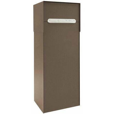 Arregui Multipack Base Doble Acceso EP3158 Boîte à colis en acier, double accès, fenêtre avant et porte arrière, couleur rouille - marron