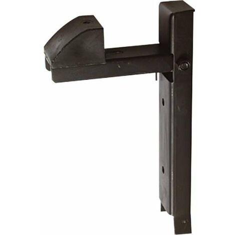 Arrêt à bascule pour portail Torbel - Réglable - A sceller - Noir - Torbel industrie