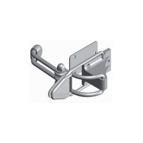 Arrêt bloc volet contre-plaque bras standard MONIN Blanc - 152020