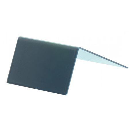 Arrêt de plaque pour profilé porteur adaptable 16/32 mm (2 coloris)