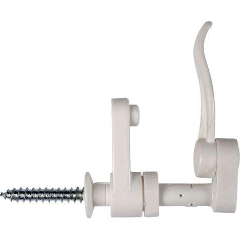 Arrêt feuille de laurier composite blanc - 130 mm - Torbel Industrie
