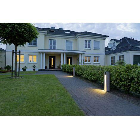 ARROCK SLOT GU10 borne, carrée, granit, poivre & sel, GU10, max. 4W LED