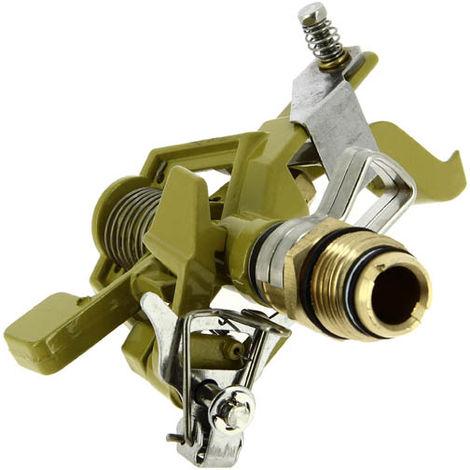 Arroseur asperseur métal secteur débrayable portée 10m-M 1/2