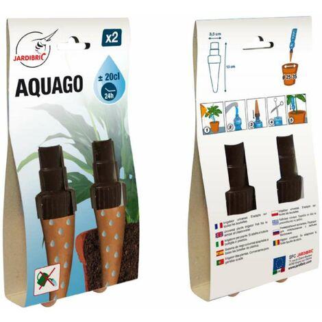 "main image of ""Arroseur autonome Aquago avec cônes en terre cuite x 2 pièces"""