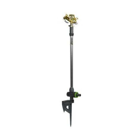 Arroseur cracheur en métal sur piquet grande hauteur - 55 cm