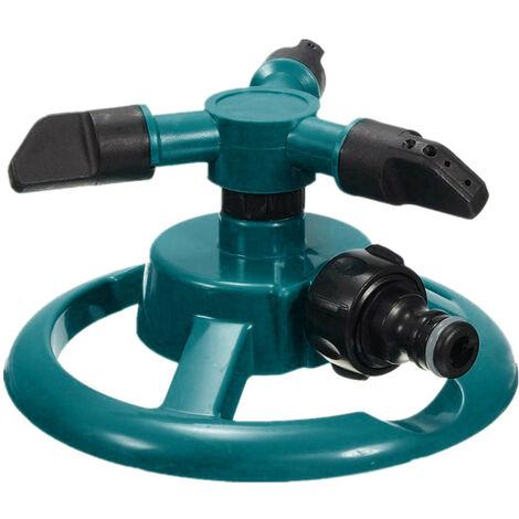 Arroseur de pelouse Arroseurs automatiques de l'eau de jardin Rotation d'irrigation de pelouse 360 °