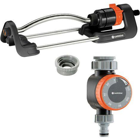 Arroseur oscillant GARDENA Aqua S Set 18701-32 90 - 220 m² 1 pc(s)