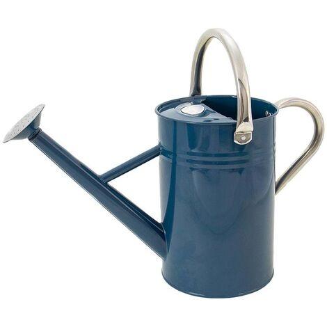 Arrosoir en acier galvanisé 4,5 litres Bleu canard