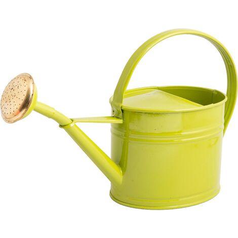 Arrosoir en acier galvanisé avec pomme 1.75 litres Vert olive