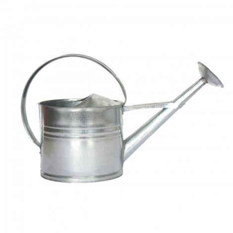 Arrosoir en zinc - L 19,8 x l 61 x H 36,8 cm - Argenté - Livraison gratuite