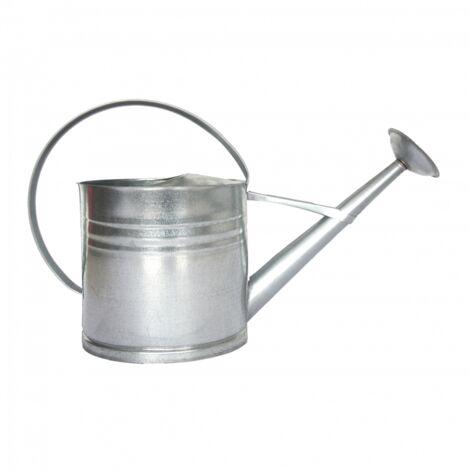 Arrosoir en zinc - L 20 x l 62,5 x H 40,3 cm - Argenté - Livraison gratuite