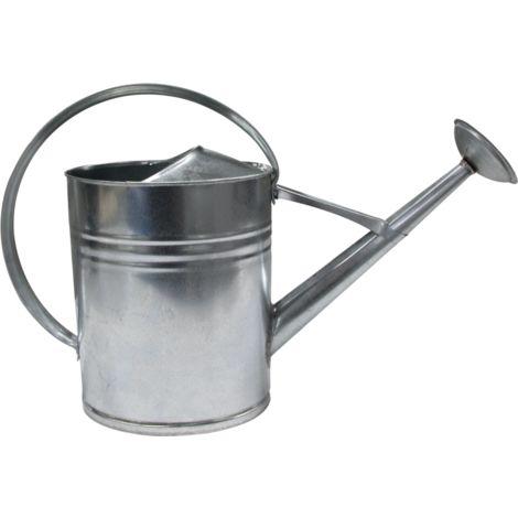 Arrosoir Ovale 10 litres - Acier Galvanisé