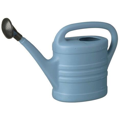 Arrosoir PE renforcé Bleu avec pomme - 5Litres - arrosage jardin