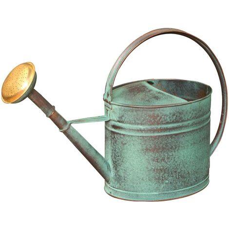 Arrosoir vert vieilli avec pomme 4 litres - Vert vieilli