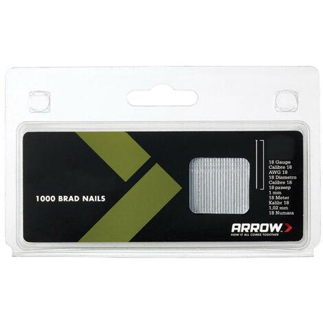 Arrow ARRBN1832 BN1832 Brad Nails 50mm 18g Pack 1000