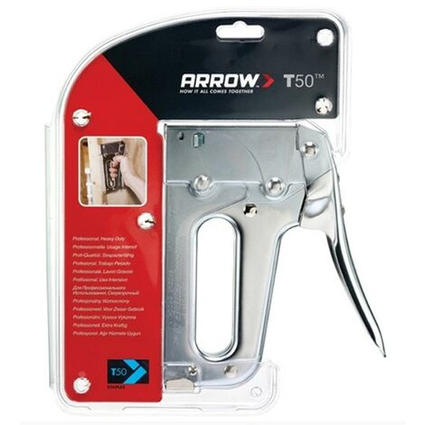 Arrow ARRT50 T50P Heavy-Duty Staple Tacker Gun Craft Tacker Appolestry Stapler