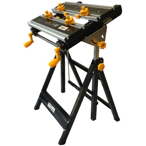 Pleasing Arrows Uk Universal Foldable Tilting Top Height Adjustable Workbench 2 In 1 Mitre Saw Stand Camellatalisay Diy Chair Ideas Camellatalisaycom