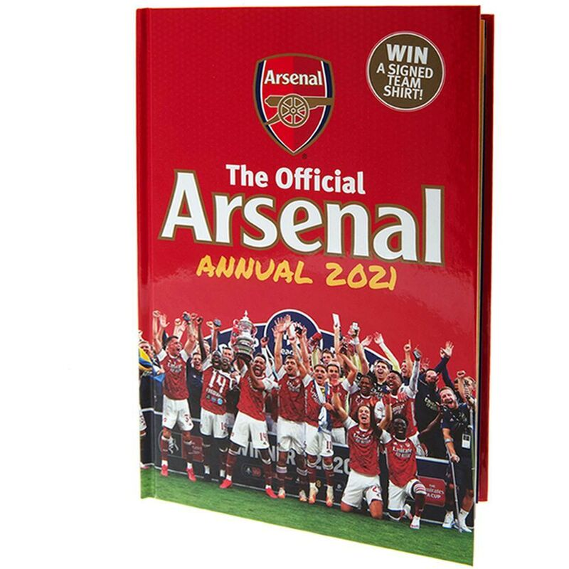 Image of 2021 Annual (One Size) (Red) - Arsenal Fc