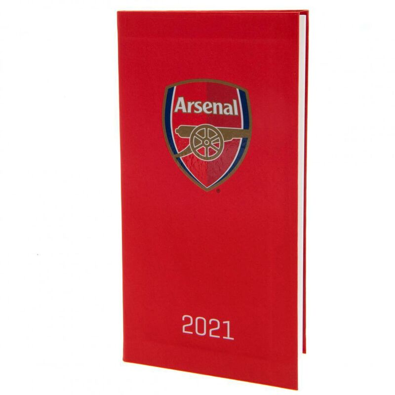 Image of 2021 Diary (One Size) (Red) - Arsenal Fc