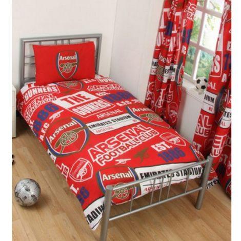 Arsenal FC Childrens/Kids Patch Duvet Set