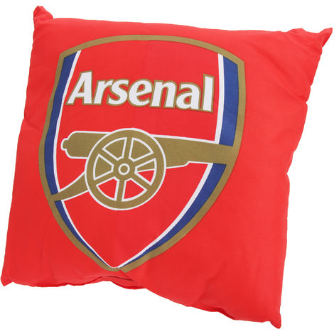 Arsenal FC - Coussin officiel style maillot (37 x 37 cm) (Rouge)