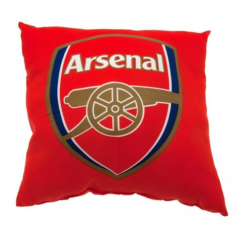 Arsenal FC Cushion (One Size) (Red)