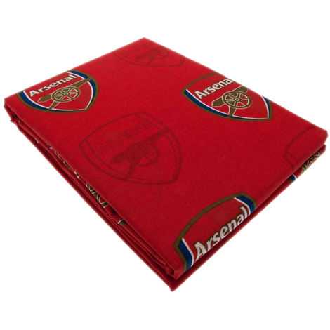 Arsenal FC Repeat Crest Curtains (66 x 72in) (Red)