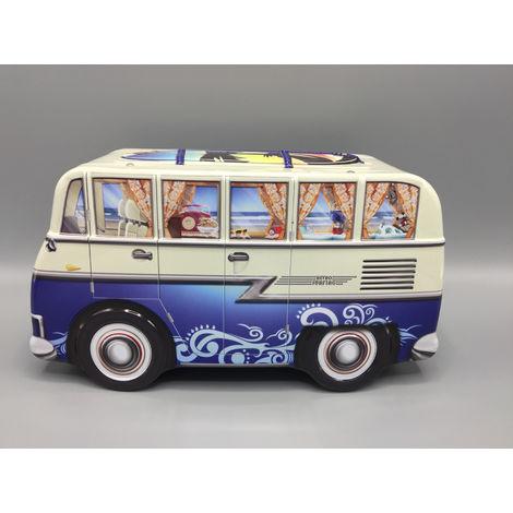 Art Deco Uhr Keksdose Geschenk Aufbewahrungsdose Dekoration Blechdose Vol 35l