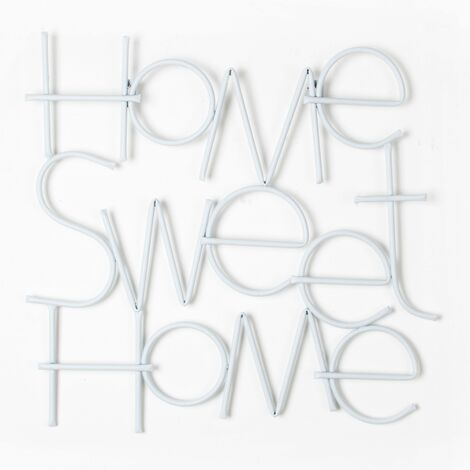 Art for the Home Home Sweet Home Metal Wall Art (Was £30)