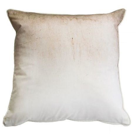 Art For The Home Neutral Ombre Filled Cotton Large Cushion (Was £20)