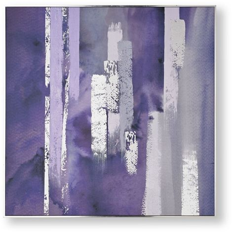 Art for the Home Purple harmony hand painted canvas (Was £110)