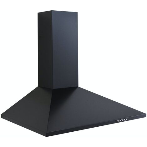 ART10928 70CM BLACK CHIMNEY COOKER HOOD