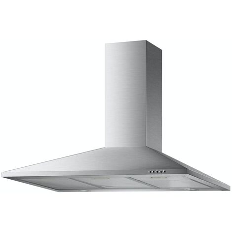ART10929 90CM STAINLESS STEEL CHIMNEY COOKER HOOD