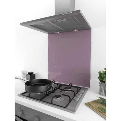 ART1106 60cm x 75cm Stunning Lilac Dust Coloured Glass Splashback