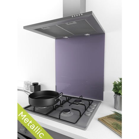 ART1108 60cm x 75cm Designer Purple Crush Glass Splashback