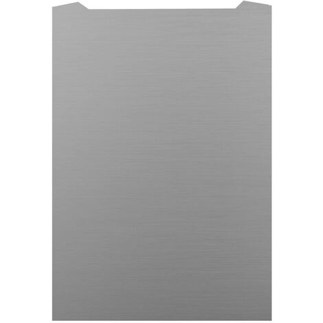 ART1167 60CM CURVED S.STEEL SPLASHBACK