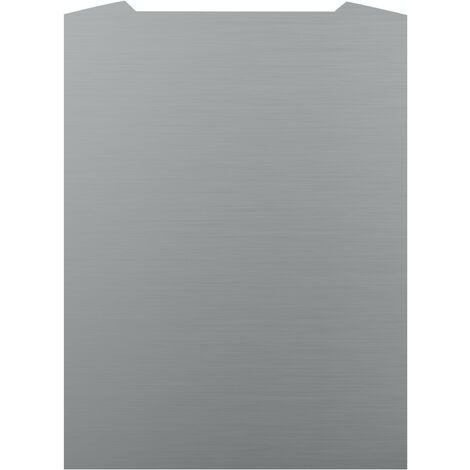 ART1169 70CM CURVED S.STEEL SPLASHBACK