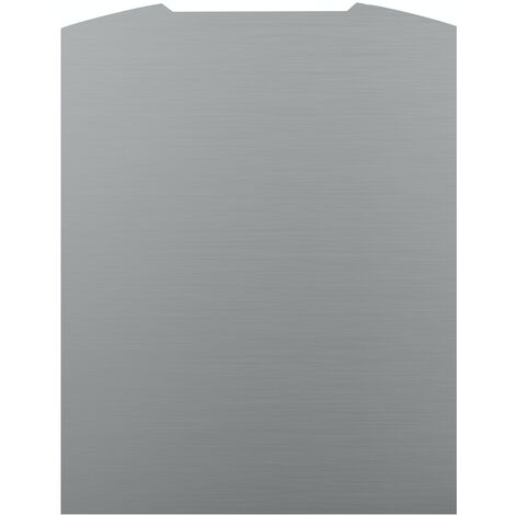 ART1171 90CM CURVED S.STEEL SPLASHBACK
