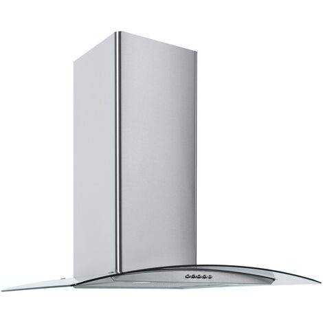 ART28369 60CM CURVED GLASS COOKER HOOD