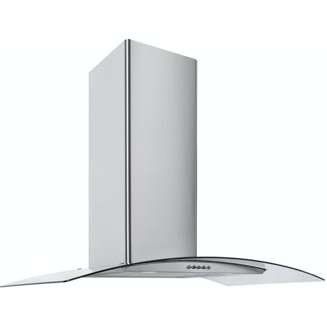 ART28372 70CM STAINLESS STEEL CURVED GLASS COOKER HOOD