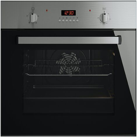 ART28744 MyAppliances ART28744 Electric Fan Oven in Black / Stainless Steel